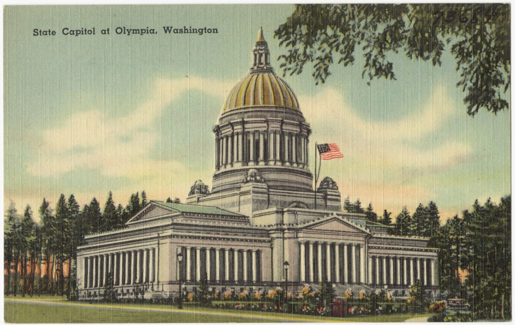 State Capitol at Olympia, Washington
